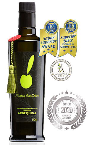 Arbequina receives a Silver a in America Awards 2020, awarded by America Newspaper.
