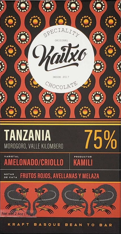 Kaitxo Tanzania Kokoa Kamili 75%  has received a Silver Award in America Foods Awards 2020, awarded by America-Newspaper.com.