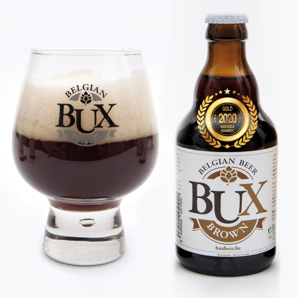 Bux Beer Brown has received a Gold award in America Foods Awards 2020, awarded by America-Newspaper.com