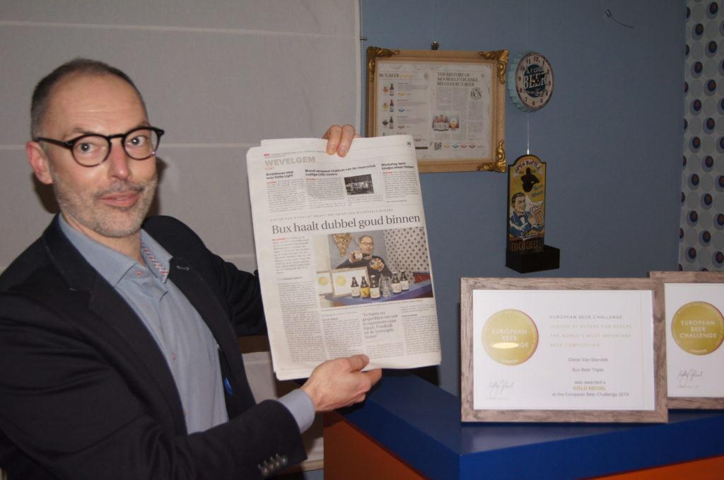 Dieter Van Biervliet at America Newspaper.